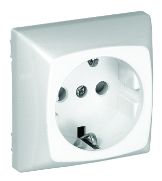 Safety Earth Socket (Schuko) with Screwless Terminals